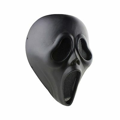 Fabric Resin Terror Full Face Protection Mask For Paintball Airsoft Halloween