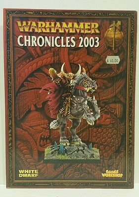 Warhammer Fantasy Chronicles 2003 Games Workshop softcover OOP