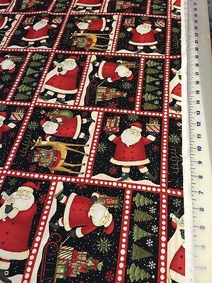Debbie Mumm Santa Gifts quilters 100% cotton Fabric by the yard