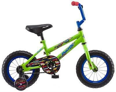 "Pacific 12"" Boy's Flex Juvenile Bike Bicycle - Green"