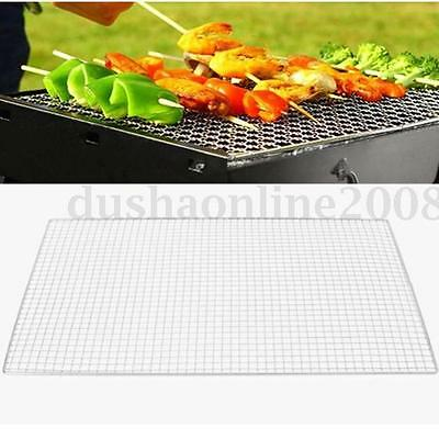 3 Taille BBQ Barbecue Grille cuisson Acier Inoxydable Rectangulaire Rechange
