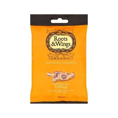 Roots & Wings Organic Toffees 125g