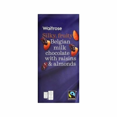 Fruit & Nut Milk Chocolate Waitrose 200g