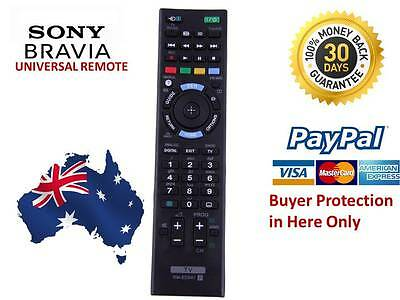 REMOTE CONTROL FOR SONY BRAVIA TV RM-GD022 RMGD022 NoSetup