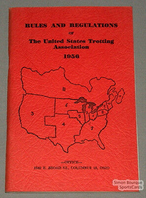 Orig. 1956 U.S.Trotting Association Charter and By-Laws