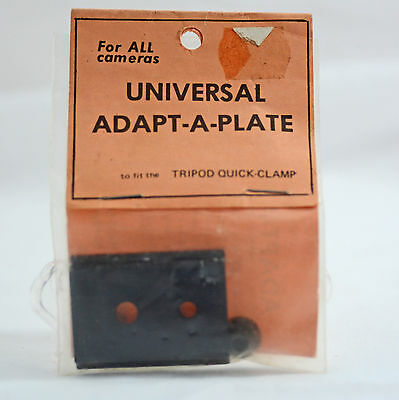 Universal Adapt-A-Plate To Fit The Tripod Quick Clamp