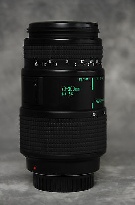 Quantaray Tech 10 70-300mm MX AF for Minolta