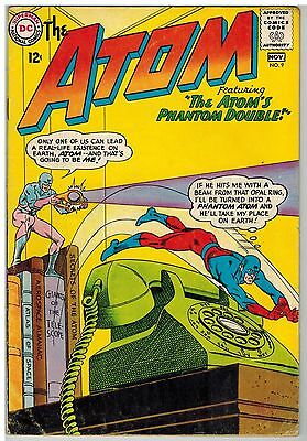 The Atom #9 1963 Kane Anderson Art Dc Silver Age!