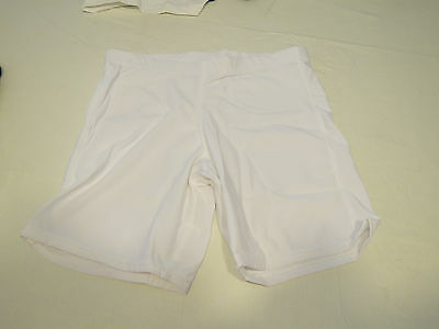 Game Gear HT111 compression shorts sliding 1 pair athletic sports L white NOS
