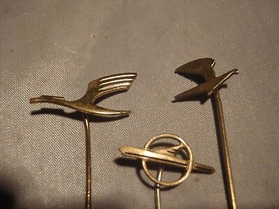 Vintage Lufthansa and Intourist stick pin badge Germany Russia
