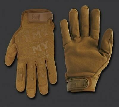 ARMY STRONG Lightweight Mechanic's US Finger Handschuhe Gloves Coyote Large