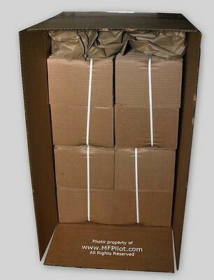 """(400) 5"""" x 7"""" CORRUGATED SHIPPING PADS - FOUR (4) BUNDLES LOT - NEW"""