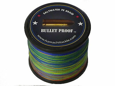 Hamachi 100lb (PE7) 1000M BRAID Japanese Dyneema - ULTRA THIN -  fishing Line