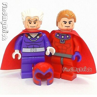 LEGO Magneto Minifigure 76022 X-Men Sentinel Minifig NEW Never Assembled