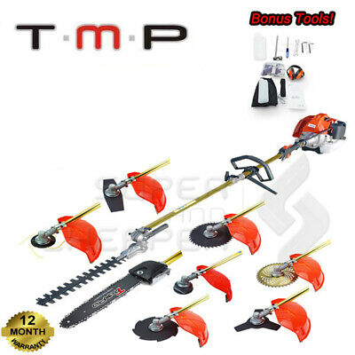 Tmax Pro 65CC Pole Chainsaw Whipper Snipper Hedge Trimmer Brush Cutter