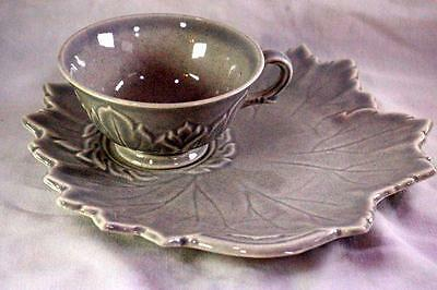 Steubenville Woodfield Dove Gray Tea And Toast Snack Plate Set