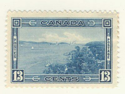 Canada Stamp Scott # 242 13-Cents Halifax Harbour MH
