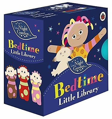 IN THE NIGHT GARDEN BEDTIME LIBRARY Cbeebies Board Book Character Stories BN