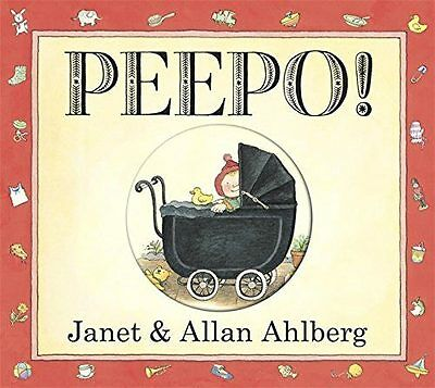 PEEPO BY JANET & ALLAN AHLBERG Classic Board Story Book Baby/Kids BN