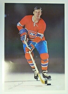 1970 Pro Stars Publications Pierre Bouchard Poster