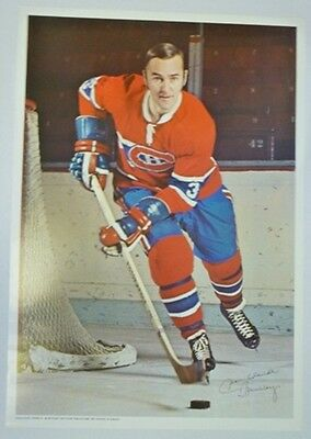 1970 Pro Stars Publications Jean-Claude Tremblay Poster