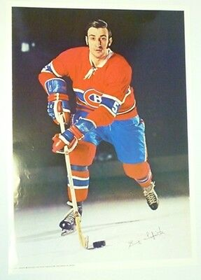 1970 Pro Stars Publications Guy Lapointe Poster