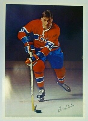 1970 Pro Stars Publications Pete Mahovlich Poster