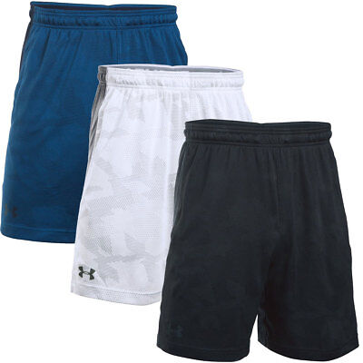 "Under Armour 2016 Mens UA Raid Jacquard 8"" Performance Tech Sports Shorts"
