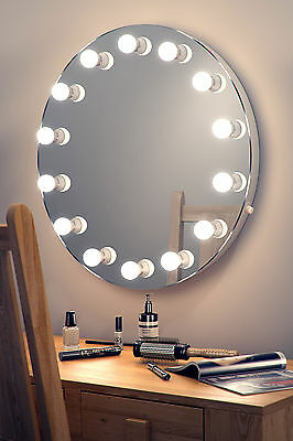 Diamond X Hollywood Makeup Mirror with Warm White Dimmable LED k250WW