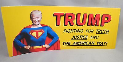Wholesale Lot Of 20 Donald Trump For President Bumper Sticker Cartoon Fighting