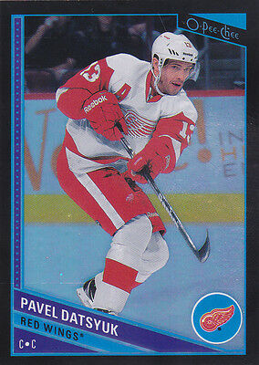 13-14 OPC Pavel Datsyuk /100 Rainbow Black OPeeChee Red Wings 2013