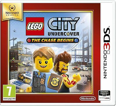 Nintendo 3DS Spiel Lego City Undercover The Chase Begins 3D 2DS kompatibel NEU