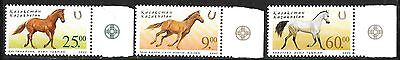 KAZAKHSTAN SC 356-8 NH issue of 2002 Animals Horses
