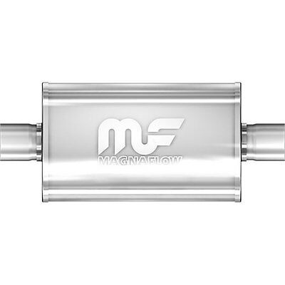"Magnaflow 12246 5"" x 8"" Oval Muffler; Center In/Center Out: 2.5""/2.5"""