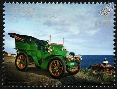 1902 GLADIATOR Cycle Company 10HP TONNEAU Car Automobile Stamp (2016 Jersey)