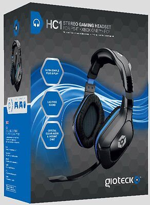 GIOTECK Cuffie Gaming Stereo HC1 PS4 XBOXONE PC SPH TAB
