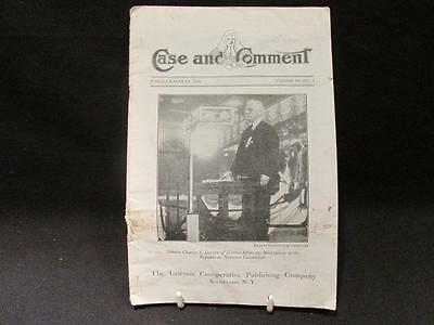 Case and Comment June-July-August 1928 Vol 34 #3 Lawyers Cooperative Booklet