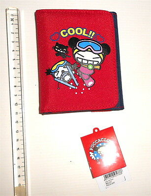 PUCCA 2015 Vooz - money wallet red blue - portafoglio nuovo rosso blu COOL kawai