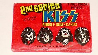 KISS ORIGINAL PACK OF CARDS STILL SEALED 1978 Aucoin