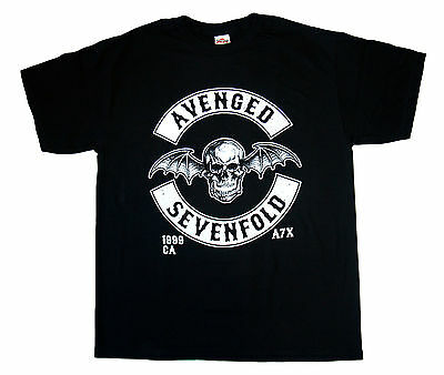 Avenged Sevenfold - DBAT CREST - Official T SHIRT Brand New Sizes S-M-L-XL-2XL