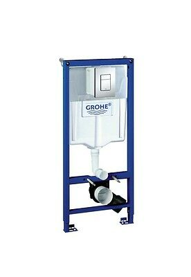 GROHE 38772001 Rapid SL 3 in 1 Wall Hung WC Set 1.13m Concealed Frame & Cistern