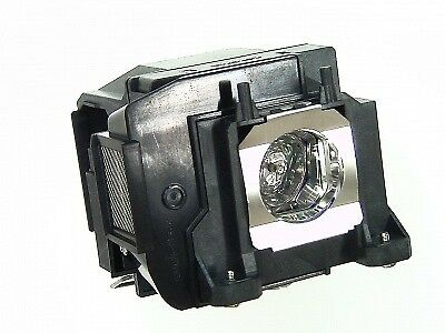 Original Bulb in cage fits EPSON Powerlite Home Cinema 3500 Projector