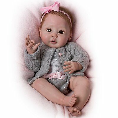 """PRECIOUS 18"""" SO REAL LIFE LIKE cooing ROSY CHEEKS NEWBORN BABY DOLL DOLLS NEW"""