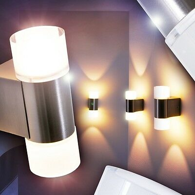 applique murale led design lampe de couloir lampe de s jour up down verre 142340 eur 79 99. Black Bedroom Furniture Sets. Home Design Ideas