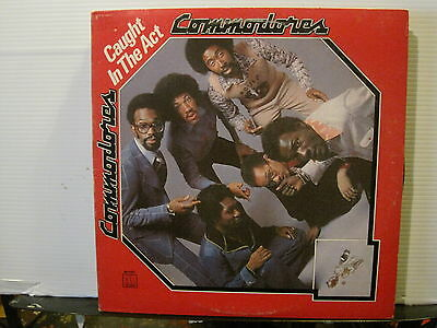 Commodores-Caught in the Act-Vimyl Lp-US Press-Free UK Post