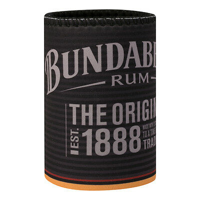 Bundy Bundaberg Rum Can Cooler Stubby Holder BUN003A Fathers Mothers Day Gift
