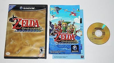 The Legend of Zelda: The Wind Waker (Nintendo GameCube Wii, 2003) Complete