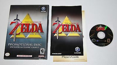 The Legend of Zelda: Collector's Edition (Nintendo GameCube Wii, 2003) Complete