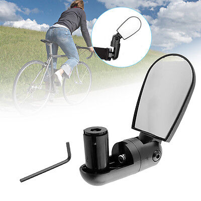 Adjustable Bike Bicycle Driving Cycling Rear View Mirror Road Vision Lens AU
