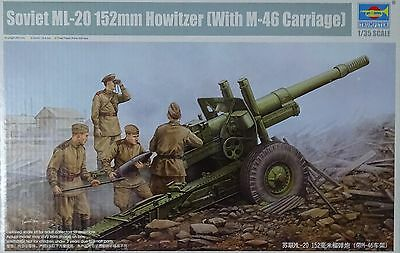 TRUMPETER® 02324 Soviet ML-20 152mm Howitzer w/M-46 Carriage 1:35